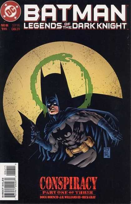 Batman: Legends of the Dark Knight 86 - III Williams