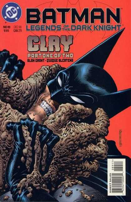 Batman: Legends of the Dark Knight 89 - Teeths - Eyes - Fingers - One Cloath - Water Drops - Enrique Alcatena