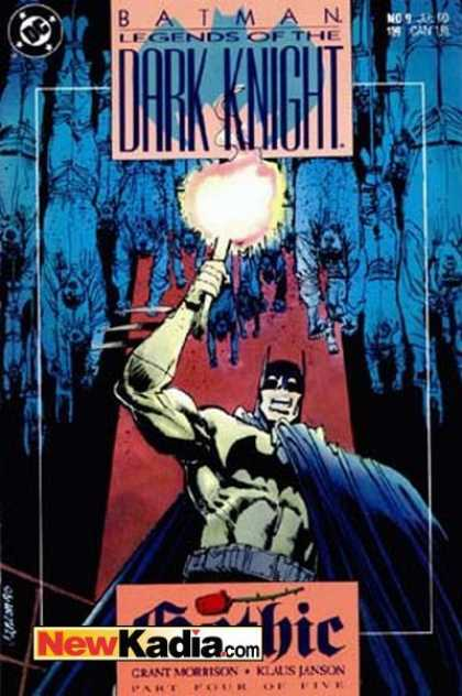 Batman: Legends of the Dark Knight 9 - Dc Comics - Torch - Gothic - Men Hanging - Part Four Of Five - Klaus Janson
