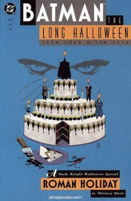 Batman: Long Halloween 11 - Tim Sale - Jeph Loeb - Dc Comics - Cake - Candles