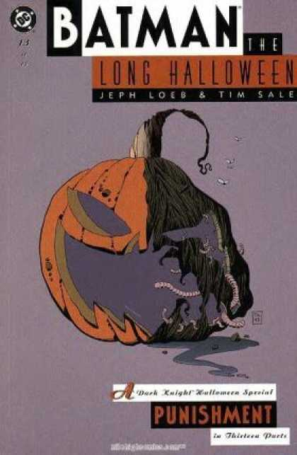 Batman: Long Halloween 13 - Jack O Lantern - Jeph Loeb U0026 Tim Sale - Maggots - Punishment In Thirteen Parts - Dc