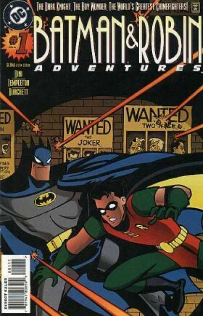 Batman & Robin Adventures 1 - Wanted - Templeton - Joker - Two Face - Harley Quin