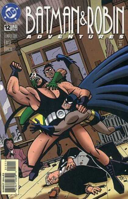 Batman & Robin Adventures 12 - Superhero - Man - Adventures - Direct Sales - Window