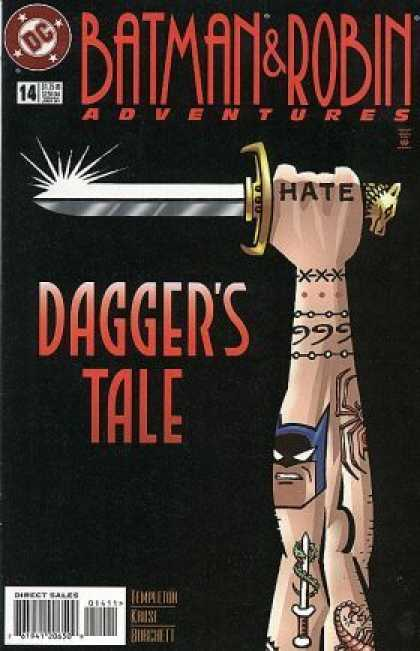 Batman & Robin Adventures 14 - Daggers Tale - Hate
