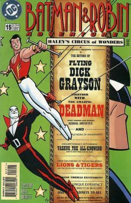 Batman & Robin Adventures 15 - Deadman - Dick Grayson - Circus Of Wonders - Batman - Lions And Tigers