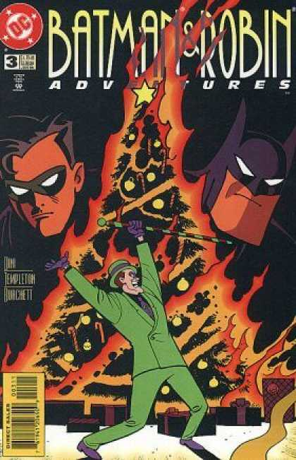 Batman & Robin Adventures 3 - Riddler - Xmas Tree