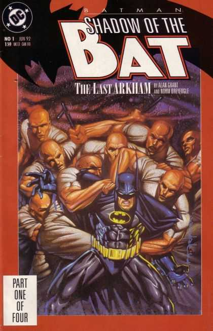 Batman: Shadow of the Bat 1 - Dc - The Last Arkham - Part One Of Four - Jun 92 - Belt - Brian Stelfreeze