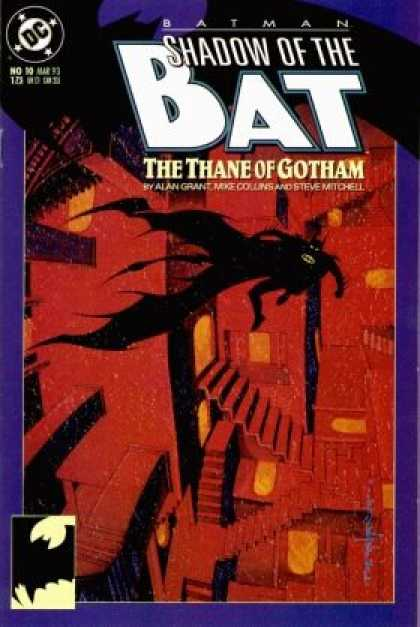 Batman: Shadow of the Bat 10 - The Thane Of Gotham - Ladder - Superhero - Alan Grant - Mike Collins - Brian Stelfreeze
