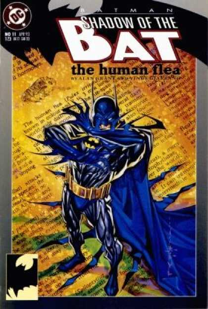 Batman: Shadow of the Bat 11 - The Human Flea - Article - Dc - No 11 - Long Blue Cape - Brian Stelfreeze