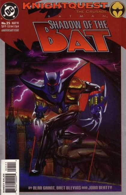 Batman: Shadow of the Bat 25 - Brian Stelfreeze