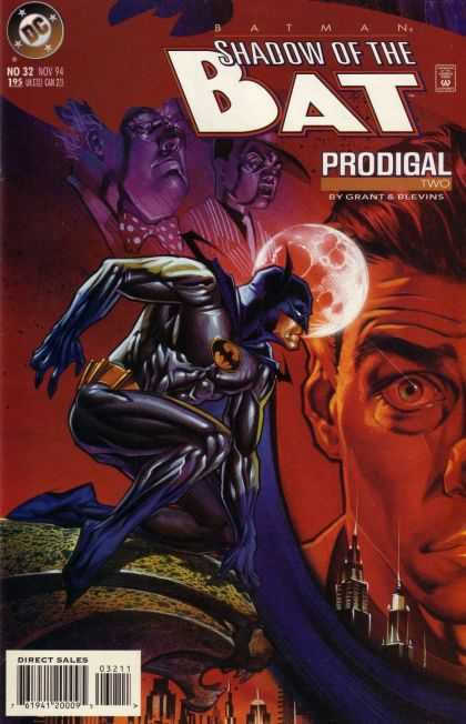 Batman: Shadow of the Bat 32 - Prodigal - Grant U0026 Blevins - Nov 94 - No 32 - Eyes - Brian Stelfreeze