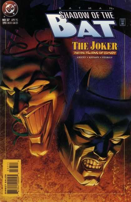Batman: Shadow of the Bat 37 - The Joker - The King Of Comedy - Stokes - Bat - Grant - Brian Stelfreeze