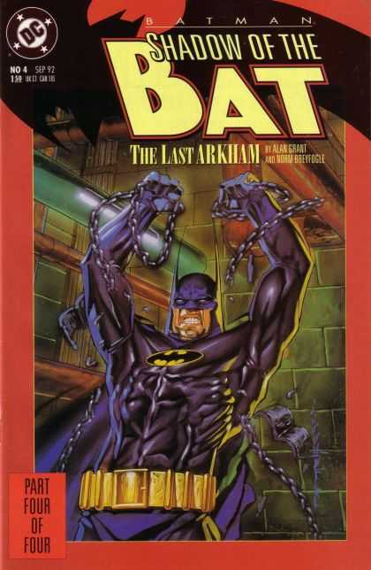 Batman: Shadow of the Bat 4 - Shadow Of The Bat - The Last Arkham - Alan Grant - Norm Breyogee - Batman - Brian Stelfreeze