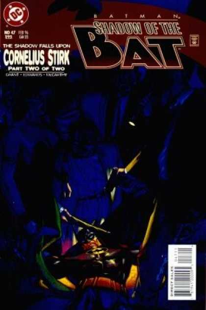 Batman: Shadow of the Bat 47 - Dc Comics - No 47 - Cornelius Stirk - Part Two - Shadow - Brian Stelfreeze