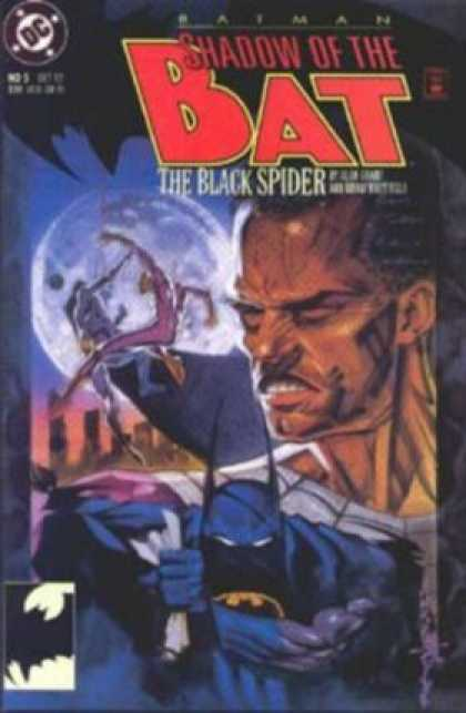 Batman: Shadow of the Bat 5 - The Black Spider - Number 5 - 1992 - Brian Stelfreeze Cover - Dc - Brian Stelfreeze