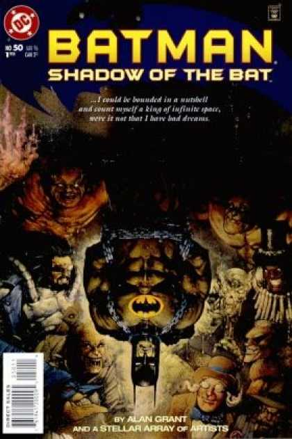 Batman: Shadow of the Bat 50 - Chained - Night - Villains - Stoic - Captive