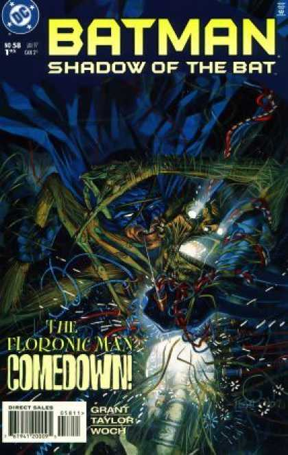 Batman: Shadow of the Bat 58 - The Floronic Man Comedown - Grant - Taylor - Woch - Green Skeleton