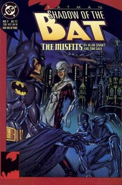 Batman: Shadow of the Bat 7 - Dc - The Misfits - Alan Grant - Tim Sale - Belt - Brian Stelfreeze