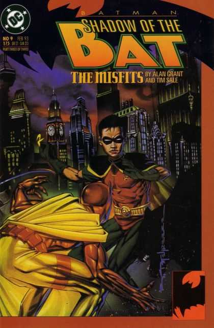 Batman: Shadow of the Bat 9 - Dc - Robin - Costume - The Misfits - Alan Grant - Brian Stelfreeze