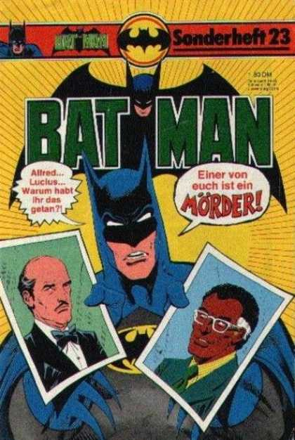 Batman Sonderheft 23