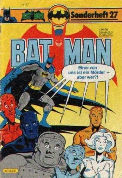 Batman Sonderheft 27