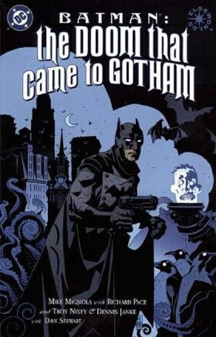 Batman: The Doom That Came to Gotham 1 - Batman - Gun - Gotham - Octopus - Doom - Dave Stewart, Mike Mignola