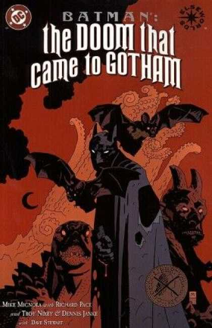 Batman: The Doom That Came to Gotham 3 - Dc - Mike Mignola - Beasts - Bat - Horns - Dave Stewart, Mike Mignola