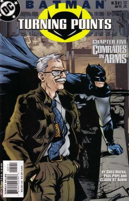 Batman: Turning Points 5 - Comrades In Arms Chapter 5 - Commissioner Gordon - Turning Points - Greg Rucka - Paul Pope - Paul Pope
