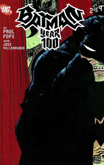 Batman: Year 100 2 - 2 Of 4 - Paul Pope - Jose Villarrubia - Red Curtains - Anger - Jose Jimenez-Momediano, Paul Pope
