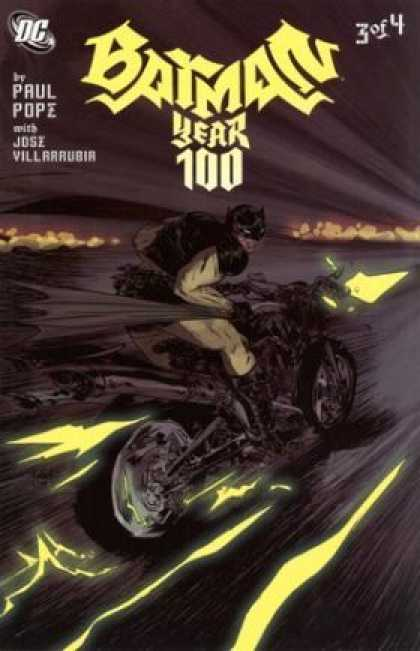 Batman: Year 100 3 - Jose Jimenez-Momediano, Paul Pope