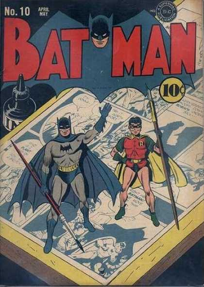 Batman 10 - Jerry Robinson
