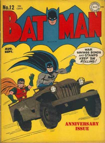 Batman 12 - Jerry Robinson