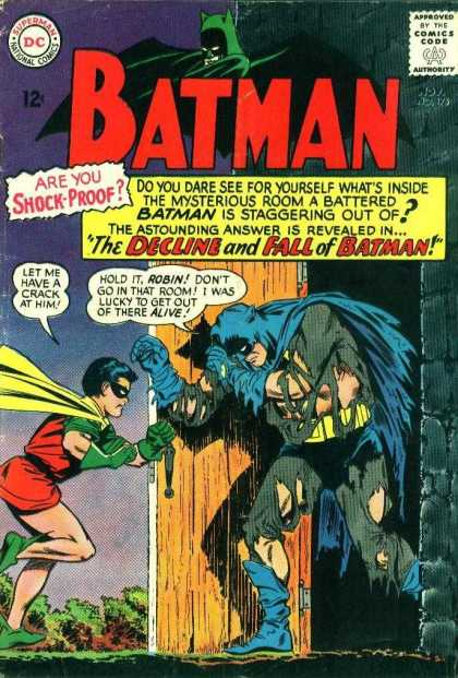 Batman 175 - Dc - Superman - National Comics - Approved By The Comics Code Authority - The Decline - Carmine Infantino