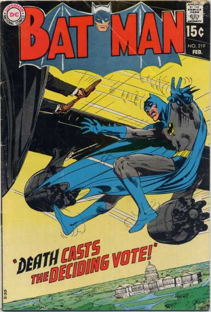 Batman 219 - Bat - Wings - Hero - Action - Man - Neal Adams