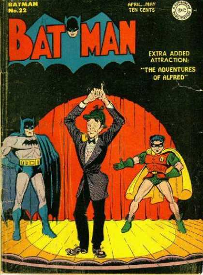 Batman 22 - Batman - The Adventures Of Alfred - Robin - No 22 - Theatre