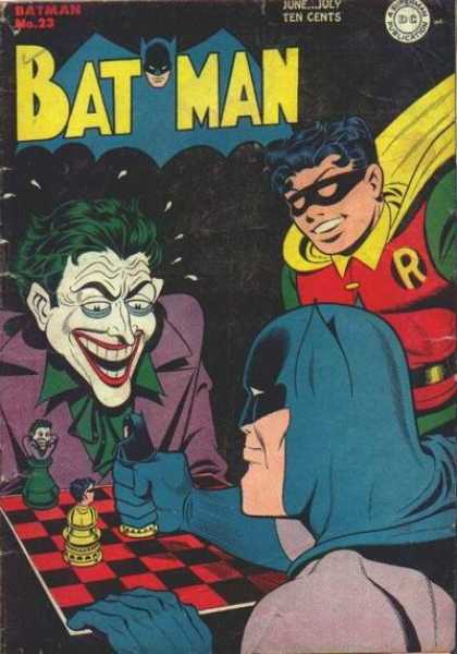 Batman 23 - Robin - Joker - June - Sweat - Ten Cents - George Roussos