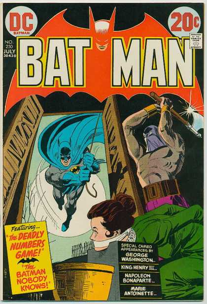 Batman 250 - Approved By The Comics Code Authority - N0250 - July - Dc - George Washington - Dick Giordano