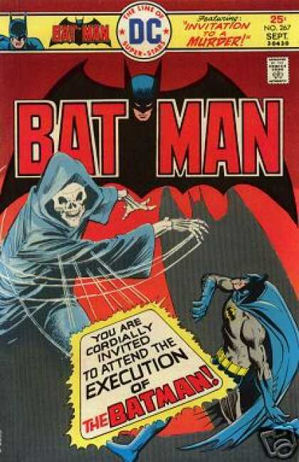 Batman 267 - Dc Comics - Ghost - Invitation To A Murder - Execution - Skeleton - Dick Giordano