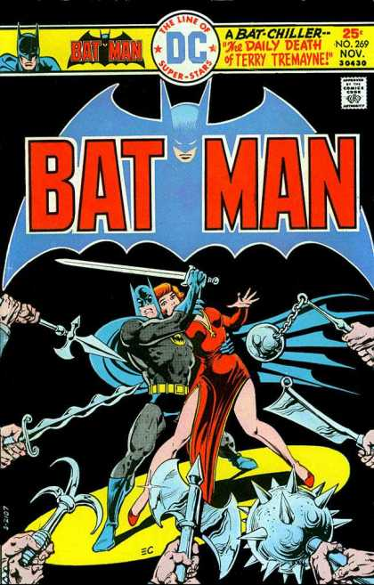 Batman 269 - A Bat-chiller - The Daily Death Of Terry Tremayne - Mace - Sword - Cleaver