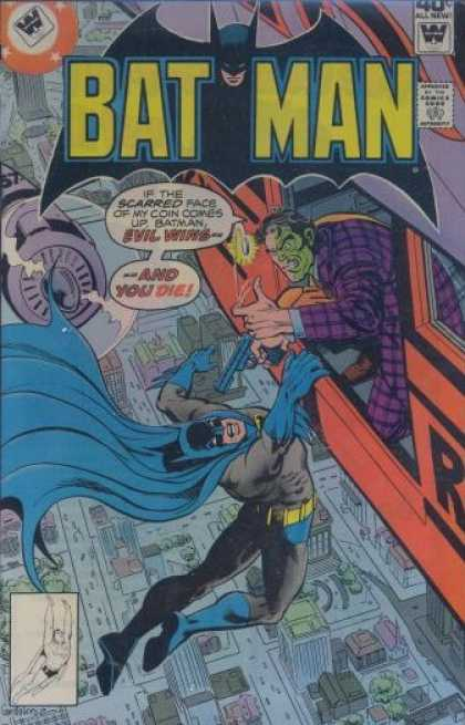 Batman 314 - Spider Man - Gun Man - Gun - And Die - Helicopeter - Dick Giordano