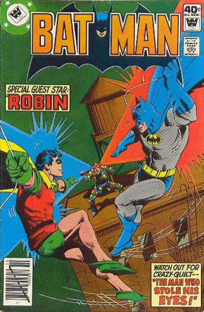 Batman 316 - Robin - Comics Code Authority - 40 Cents - Guest Star - Building - Dick Giordano