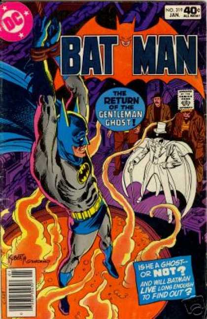 Batman 319 - Superhero - Joker - Magma - Costume - Knott - Dick Giordano, Joe Kubert