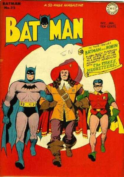 Batman 32 - The Three Musketeers - Superboy - They United - Robin - They Are Walking
