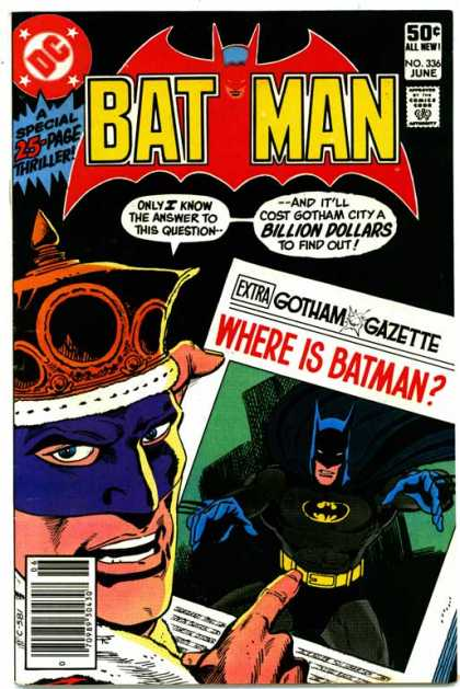Batman 336 - Jim Aparo