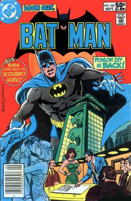 Batman 339 - Poison Ivy - Romance - Board Room - Trouble In Green - Dangerous Alliances - Dick Giordano, Richard Buckler