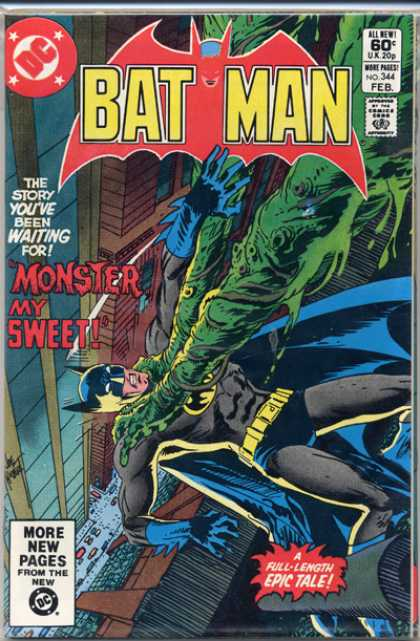Batman 344 - Joe Kubert