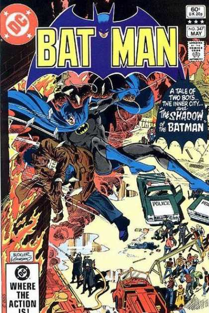 Batman 347 - Dick Giordano, Richard Buckler