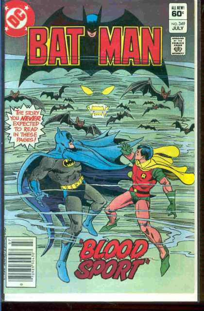 Batman 349 - Dick Giordano, Ross Andru