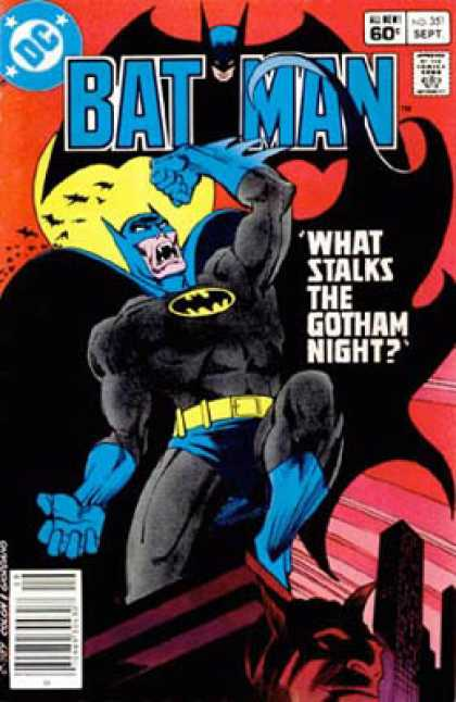 Batman 351 - Dc - Bats - September - What Stalks The Gotham Night - Superhero - Dick Giordano, Gene Colan