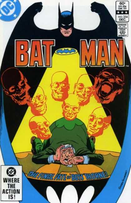 Batman 354 - Dick Giordano, Keith Giffen